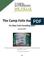 The Camp Felix Handbook 2017