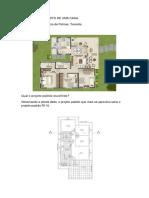 Estimativa do custo de uma casa localizada em Tocantis