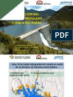 Operacion Del Sistema Regulado Cuenca Rio Rimac Yolanda Cardenas