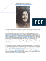 Biography of Lucia Fox Lockert