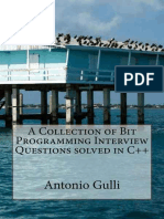 (A Collection of Programming Interview Questions 3) Dr Antonio Gulli-A Collection of Bit Programming Interview Questions solved in C++-CreateSpace Independent Publishing Platform (2014)