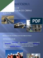 Segunda Clase de Construccion i Proyectos de Construccion y Exp. Tecnicos