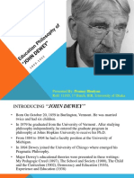 Education Philosophy of John Dewey