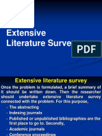 Literature Review topics