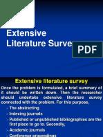 Literature Review topics