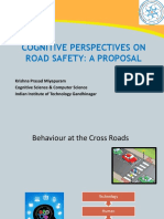 Cognitive Perspectives on Road Safety