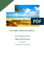 Piscinas,playas y balnearios