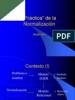 normalizacion bases datos