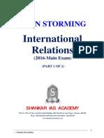 Bilateral Relations Materials - Shankar IAS