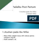 Askep Nifas & Senam Nifas 2014