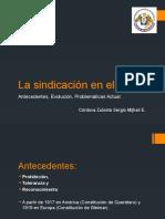 La Sindicación en El Perú