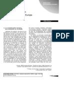 Analisis Socioreligioso. Paradigma Europeo