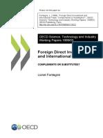 FDI and trade