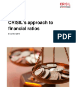 CRISIL Ratings Research Approach to Financial Ratios 2013