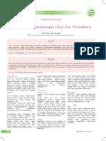 Diagnosis Dan Tatalaksana Deep Vein Thrombosis