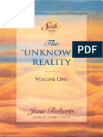 Jane Roberts Seth the Unknown Reality Vol I
