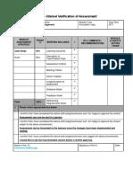 IV Sheet for Credit Risk HND