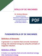 1 Fundamental of DC Machines