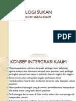 Sukan Dan Integrasi Kaum