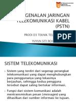 03 Pengenalan Jaringan Telekomunikasi Kabel Pstn