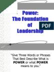 11.Power Foundation of Leadership