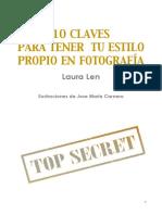 10 Claves Para Tener Tu Estilo Propio en Fotografia Por Laura Len