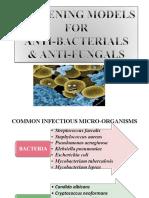 Anti Bacterials & Anti Fungals