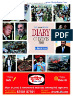 The Hindu a Dairy of Events 2016-17