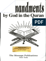 Commandments by God in the Qur'an