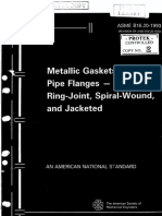 ASME B16.20 - Metallic Gaskets for Pipe Flanges - 1997