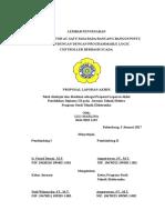 Lembar Pengesahan Proposal LILI