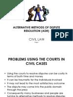 ACAS Dispute Resolution ADR Tribunals