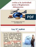 Introducción a La Actividad Aduanera y Regímenes Aduaneros