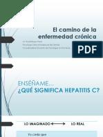 El Camino de La Enfermedad Crónica Hepatitis C- Versión 1