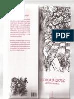 Sociologia Da Educação Alberto Tosi
