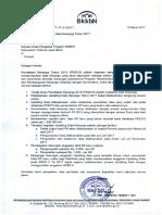 Surat Tindak Lanjut PK 2015