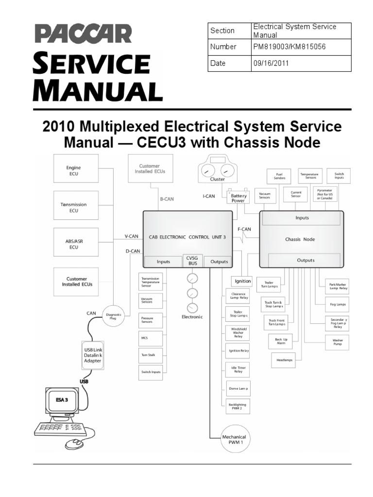 Wiring Diagram Kenworth Cecu3 Schematics Diagrams 1989 T600 Data U2022 Rh 207 246 69 74