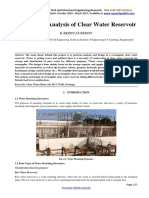 Design and Analysis of Clear Water Reservoir-3961