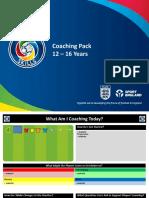 Coaching Pack 12-16 Years