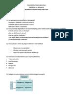 Banco de Preguntas 2do Bim, Desarrollo