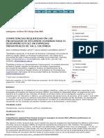 Competencias Requeridas en Los Encargados de Recursos Humanos Para El Desempeño Eficaz en Empresas Industriales de Cali, Colombia