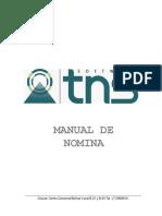 Manual Nomina TNS