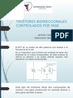 Tiristores Bidireccionales Controlados Por Fase
