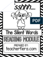 Silent Words Reading Module