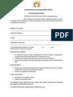 Formulario inscripción