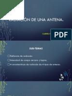Radiación de Una Antena