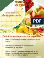 pocesamiento de productos vegetales