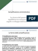 18 Marzo - Semplificazione Amministrativa II - Giancaspro