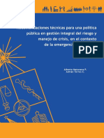 RecomendacionesDesastresChile2010
