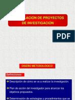 6. Formulacion de Proyectos de Investigacion
